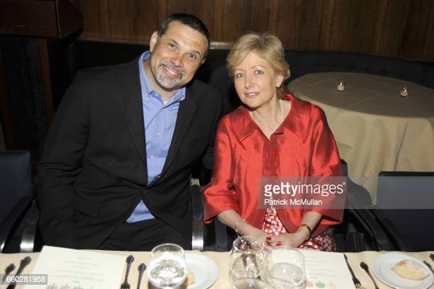 Fred Bernstein and Adela Heller attend ENRIQUE NORTEN Private Dinner Celebrating the 25th Anniversary of TEN ARQUITECTOS at The Four Seasons...