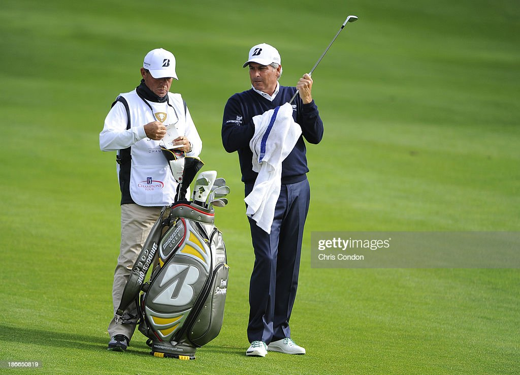 <a gi-track='captionPersonalityLinkClicked' href=/galleries/search?phrase=Fred+Couples&family=editorial&specificpeople=203076 ng-click='$event.stopPropagation()'>Fred Couples</a> plays from the 15th fairway during the third round of the Charles Schwab Cup Championship at TPC Harding Park on November 2, 2013 in San Francisco, California.