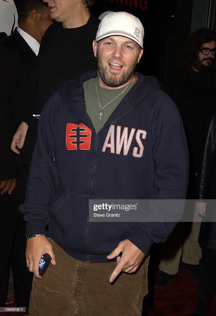 Fred Durst during 'Jackass: The Movie' Premiere at Cinerama Dome in Hollywood, California, United States.