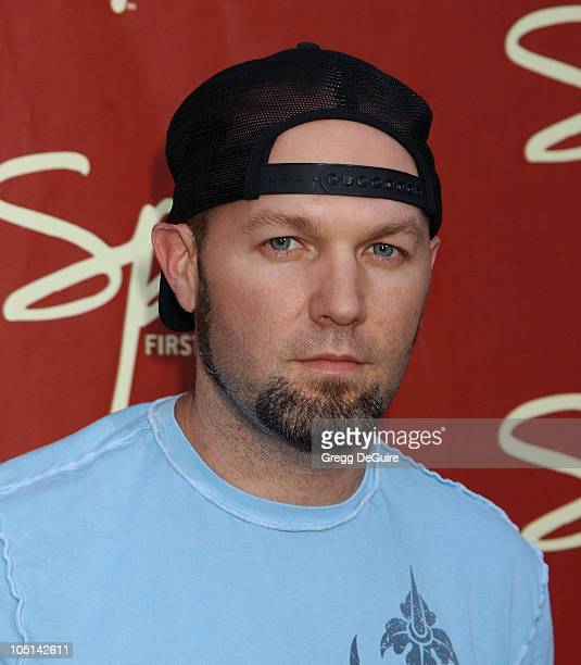Fred Durst during Launch of Spike TV at the Playboy Mansion at Playboy Mansion in Los Angeles California United States