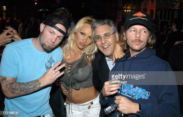 Fred Durst Pamela Anderson Albie Hecht and David Spade *Exclusive*