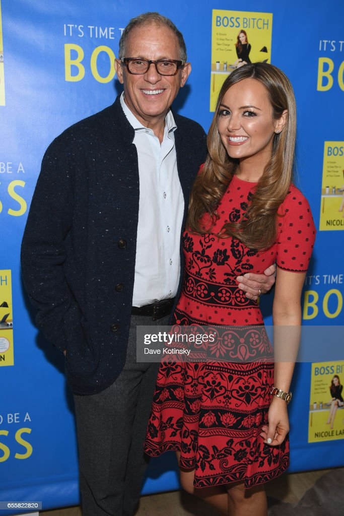 Fred Hochberg and Nicole Lapin attend a private party to celebrate the release of Nicole Lapin's second book 'BOSS BITCH' at a private residence on March 20, 2017 in New York City.
