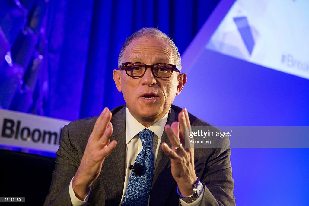 Fred Hochberg, chairman and president of the Export-Import Bank of U.S., speaks during the Bloomberg Breakaway Summit in New York, U.S., on Wednesday, May 25, 2016. At the inaugural event, participants will hear from corporate leaders investors and government officials on the most crucial issues that impact their ability to find new markets, win over investors, recruit top talent, protect data, and more. Photographer: Michael Nagle/Bloomberg via Getty Images