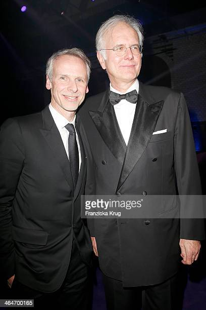 Fred Kogel and Harald Schmidt attend the Mira Award 2014 on January 23 2014 in Berlin Germany