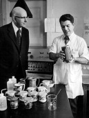 FEB 21 1972 MAR 29 1972 APR 2 1972 Fred Lofsvold director of FDA's regional office in Denver and Gene Nandrea chemist discuss pottery ready for...