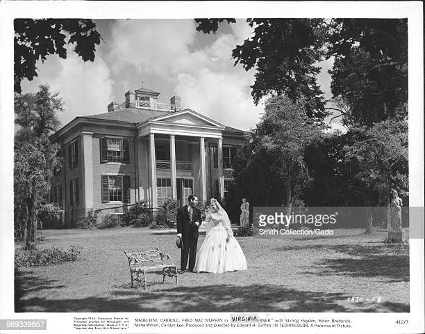 Fred MacMurray and Madeleine Carroll in film Virginia 1941