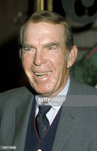 Fred MacMurray during 19th Annual 'Women of the World' Awards at Century Plaza Hotel in Los Angeles California United States