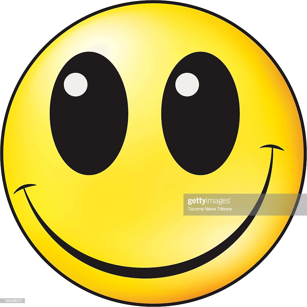 Fred Matamoros color illustration of yellow smileyface The News Tribune /MCT via Getty Images