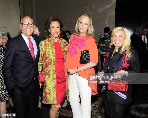 Fred Negem Mai Hallingby Harrison Jackie Williams and Thorunn Wathne attend The Boys' Club of New York Annual Awards Dinner at Mandarin Oriental on...