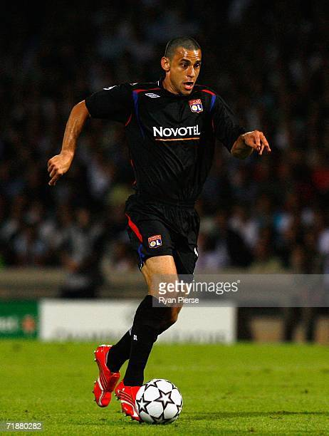 Fred of Lyon in action during the UEFA Champion's League Group E match between Olympique Lyonnais and Real Madrid at Gerland Stadium on September 13...
