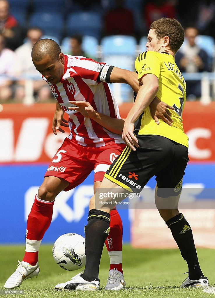 Fred of the Heart controls the ball during the round nine A-League match between the Melbourne Heart and the Wellington Phoenix at Latrobe City Sports & Entertainment Complex on December 4, 2011 in Melbourne, Australia.