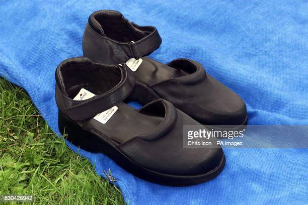 A Fred Perry style sports dress and a pair of Ladybird shoes like the ones worn by murdered school girl Sarah Payne on the day she disappeared from a...