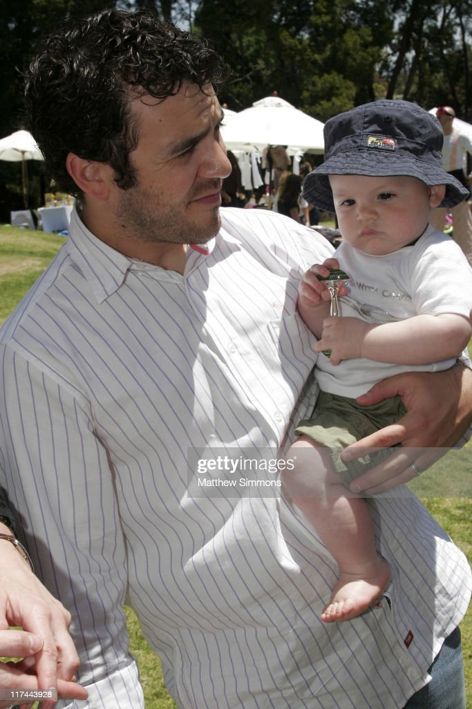 Fred Savage and Oliver Savage during The Silver Spoon Hosts 4th Annual Dog and Baby Buffet Day Two at Wattles Mansion in Los Angeles California...