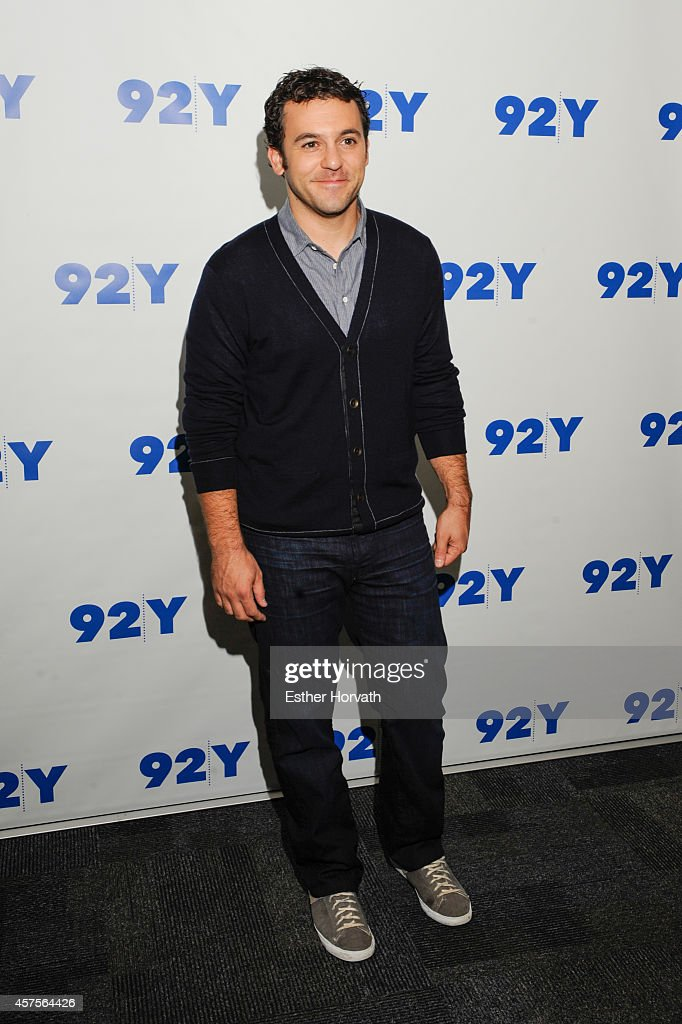 Fred Savage at 92nd Street Y on October 20 2014 in New York City