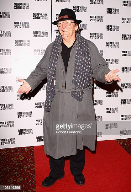 Fred Schepsi arrives at the world premier of 'Matching Jack' during the Melbourne International Film Festival at The Forum Theatre on July 29 2010 in...