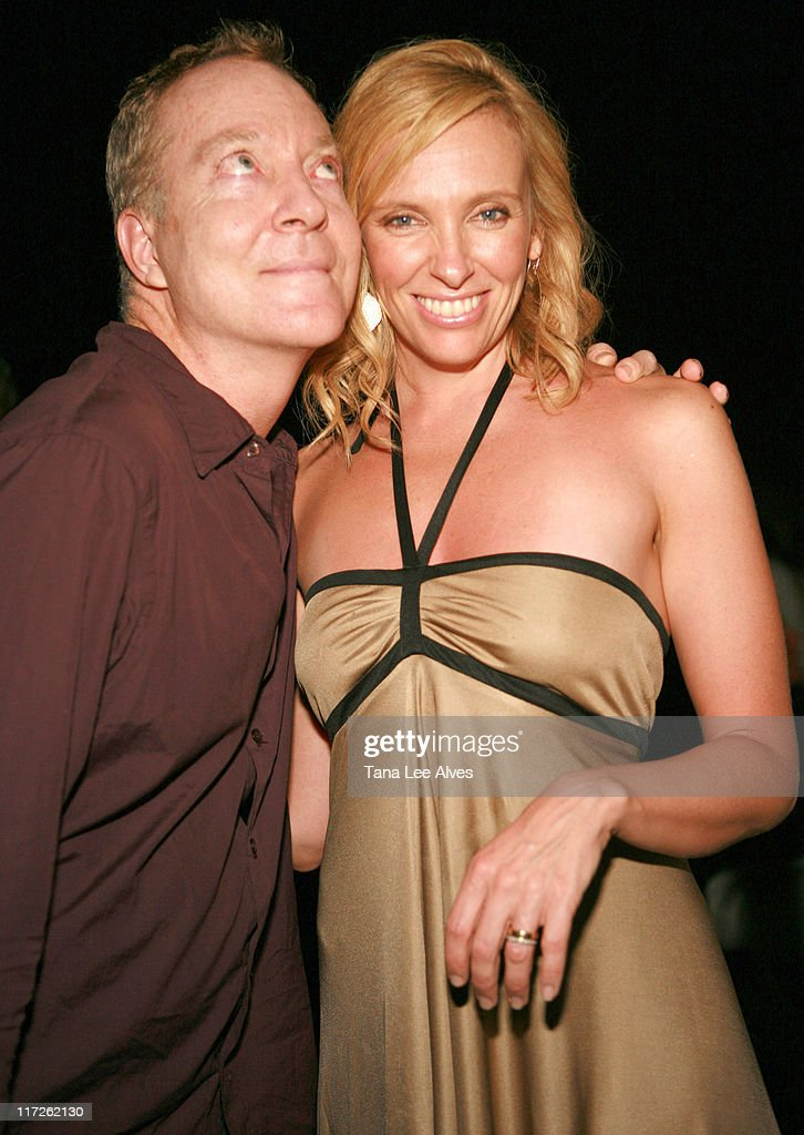 Fred Schneider and Toni Collette during The Cinema Society and The Wall Street Journal Host the After Party for 'The Night Listener' at Private...