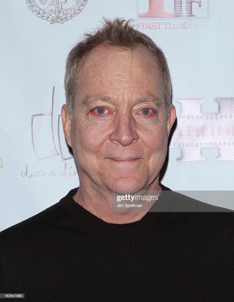 Fred Schneider attends the opening night party for the 2013 First Time Fest at The Players Club on March 1, 2013 in New York City.