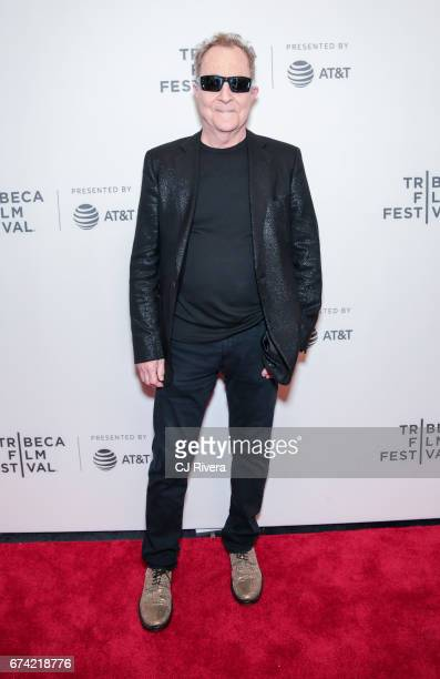 Fred Schneider attends the premiere of 'Dare to be Different' during the 2017 Tribeca Film Festival at Spring Studios on April 27 2017 in New York...