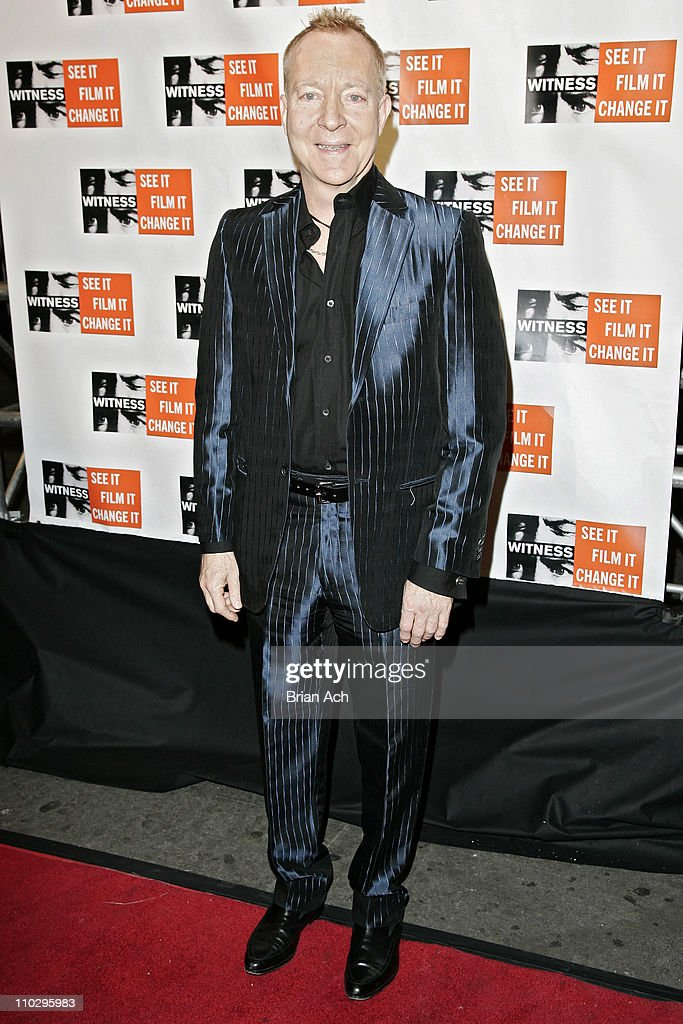 Fred Schneider during The Second Annual Dinner and Concert to Benefit WITNESS CoHosted by WITNESS Founder Peter Gabriel and Gael Garcia Bernal at...