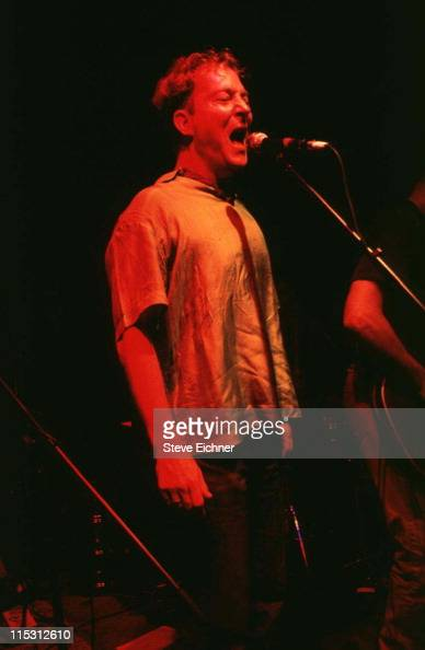 Fred Schneider of B52s during B52s at Wetlands 1991 at Wetlands in New York City New York United States
