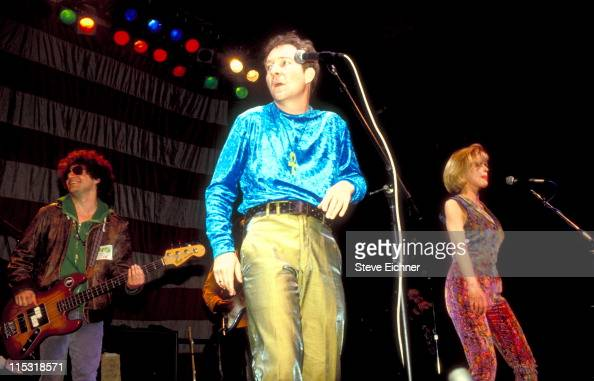 Fred Schneider of B52s during B52s in Concert at Ritz 1992 at Ritz in New York City New York United States