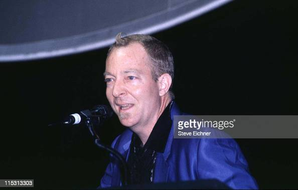 Fred Schneider of B52s during Celebrities at Cinema Village June 1996 at Cinema Village in New York City New York United States