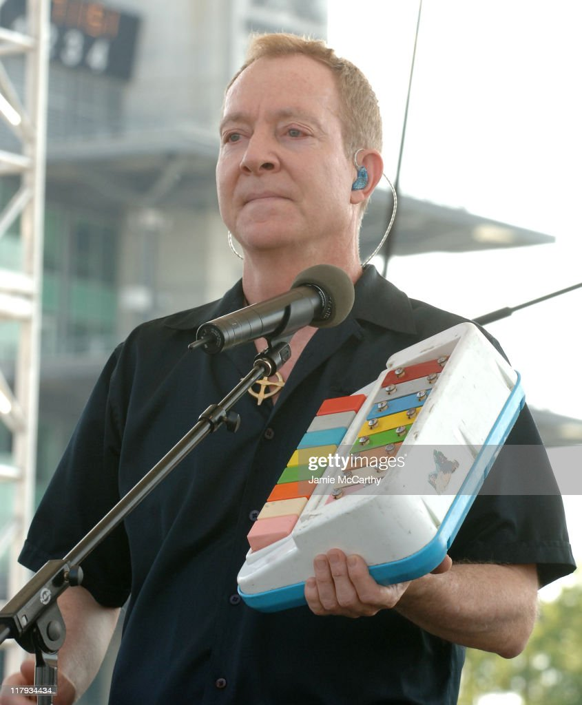 Fred Schneider of The B52's during 90th Running of The Indianapolis 500 Miller Lite Carb Day Concert Featuring The B52's and Third Eye Blind at...
