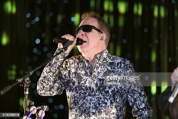 Fred Schneider of the B52s performs at UNICEF's Evening for Children First to Honor Ted Turner on March 30 2016 in Atlanta Georgia