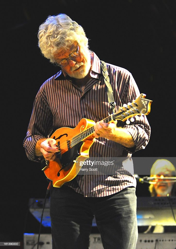Fred Tackett of Little Feat performs on stage at Norwich UEA LCR on February 10, 2013 in Norwich, England.