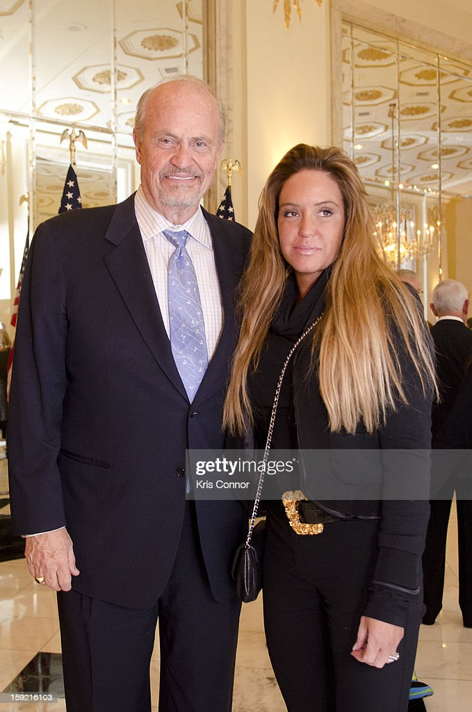 <a gi-track='captionPersonalityLinkClicked' href=/galleries/search?phrase=Fred+Thompson+-+Actor+and+Politician&family=editorial&specificpeople=206895 ng-click='$event.stopPropagation()'>Fred Thompson</a> and Jeri Kehn pose for a photo during President Nixon's 100th Birthday Gala on January 9, 2013 in Washington, United States.