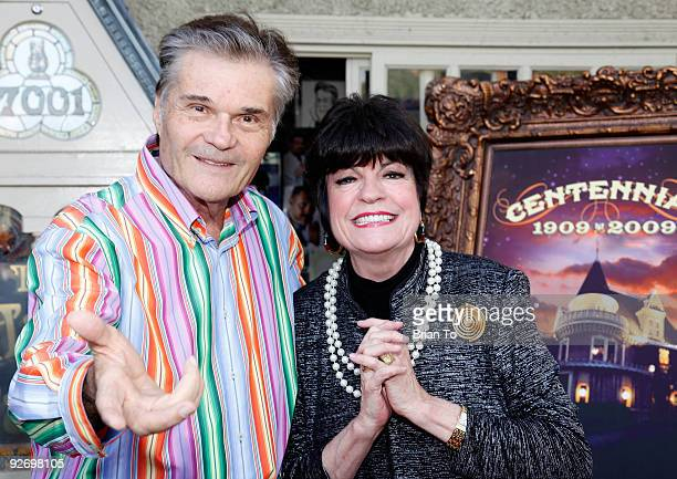 Fred Willard and JoAnne Worley attend The Magic Castle 100th Anniversary Celebration at The Magic Castle on November 3 2009 in Hollywood California