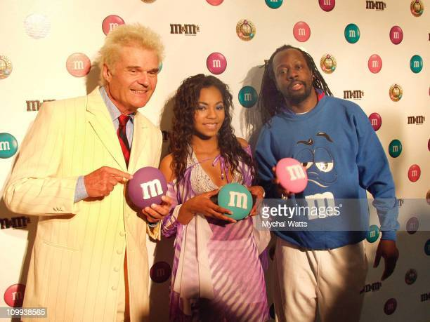 Fred Willard Ashanti Wyclef Jean during The World Has Spoken Ashanti Wyclef Jean And Fred Willard Announce The New MM's Color in New York City New...