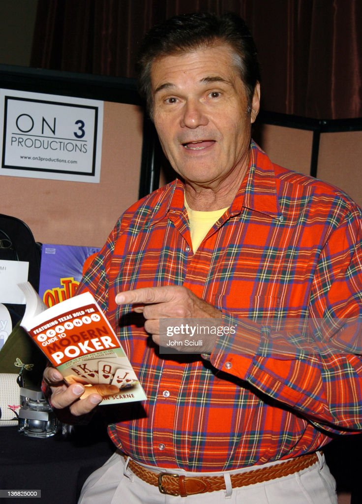 Fred Willard during Bravo's Celebrity Poker Showdown Talent Gift Lounge Produced by On 3 Productions at The Palms Hotel and Casino in Las Vegas...