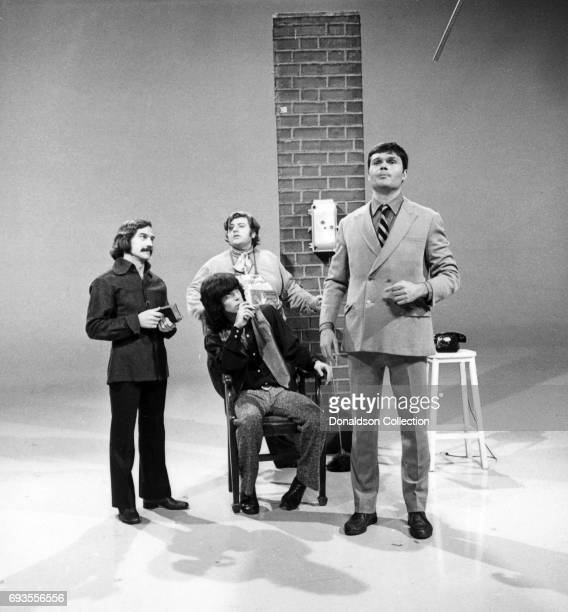 Fred Willard performs as a part of Ace Trucking Company on 'This Is Tom Jones' TV show in circa 1970 in Los Angeles California
