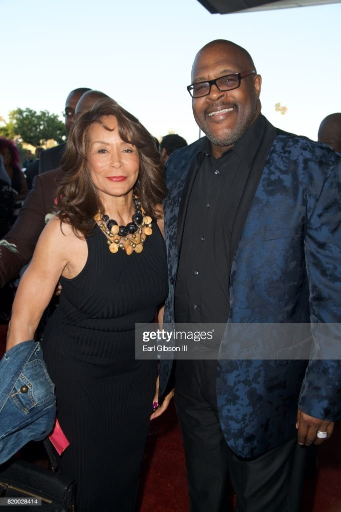 Freda Payne and Marvin Winans attend the Opening Night Of 'Born For This' at The Broad Stage on July 20, 2017 in Santa Monica, California.