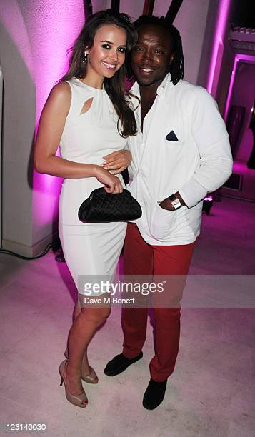 Freddie Achom and guest attend the Goga Ashkenazi Summer Party at her villa on July 152011 in St TropezFrance