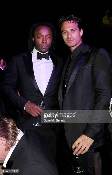 Freddie Achom attends the de Grisogono Party at the Hotel Du Cap during the 64th Annual Cannes Film Festival on May 17 2011 in Cannes France
