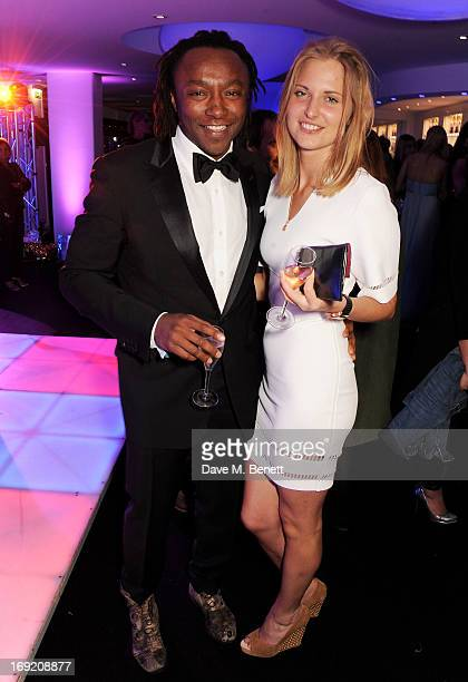 Freddie Achom attends the de Grisogono Party during the 66th International Cannes Film Festival at Hotel Du Cap on May 21 2013 in Antibes France