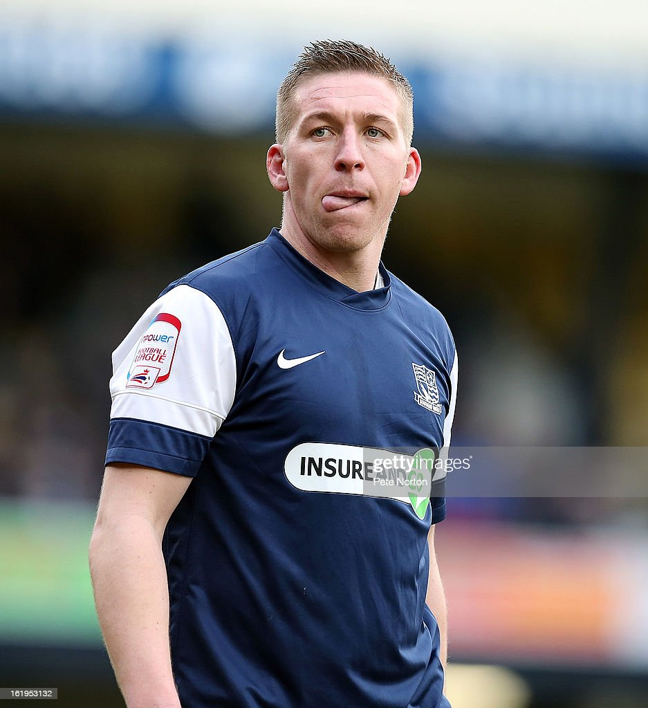 Freddie Eastwood of Southend United in action during the npower League Two match between Southend United and Northampton Town at Roots Hall on February 16, 2013 in Southend, England.