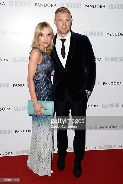 Freddie Flintoff and Rachael Flintoff attend Glamour Women of the Year Awards 2013 at Berkeley Square Gardens on June 4 2013 in London England