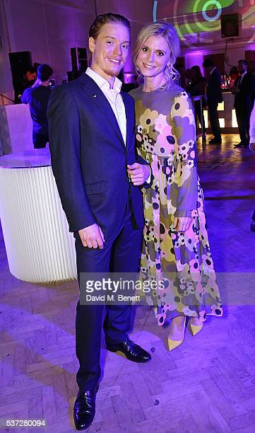 Freddie Fox and Emlia Fox attend End of Silence charity event at Abbey Road Studios in aid of Hope and Homes for children on June 1 2016 in London...