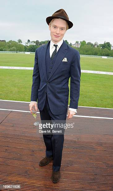 Freddie Fox attends the Audi Royal Polo Challenge 2013 at Chester Racecourse on May 29 2013 in Chester England