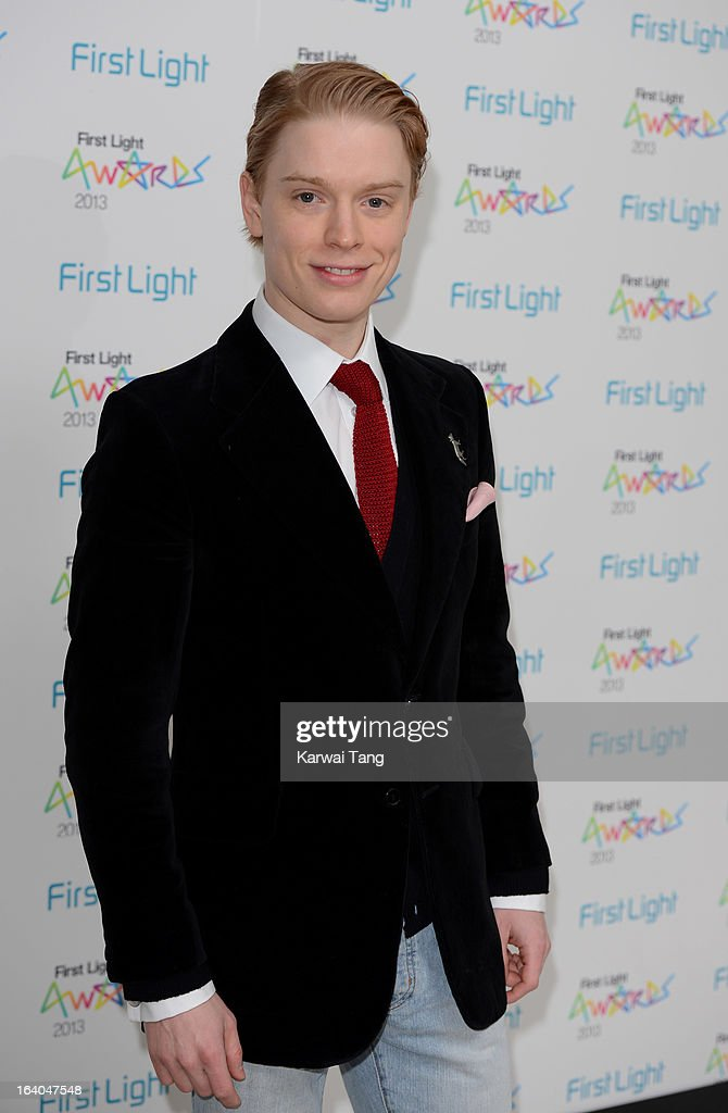 Freddie Fox attends the First Light Awards at Odeon Leicester Square on March 19, 2013 in London, England.