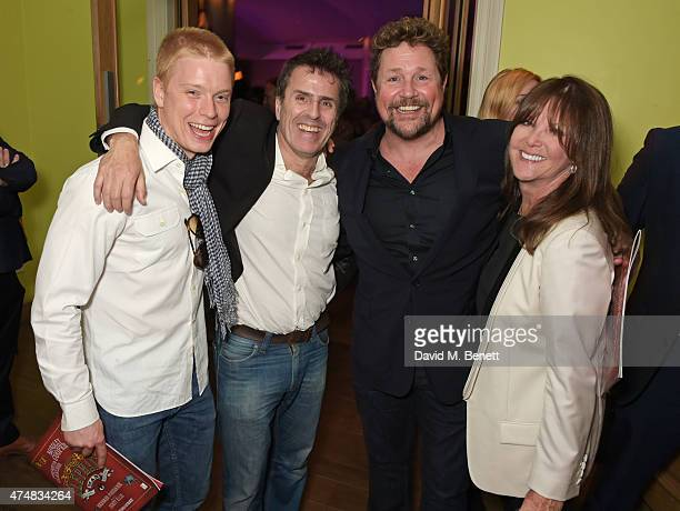 Freddie Fox Con O'Neill Michael Ball and Cathy McGowan attend an after party celebrating the VIP Gala Preview of 'The Elephant Man' at The Haymarket...