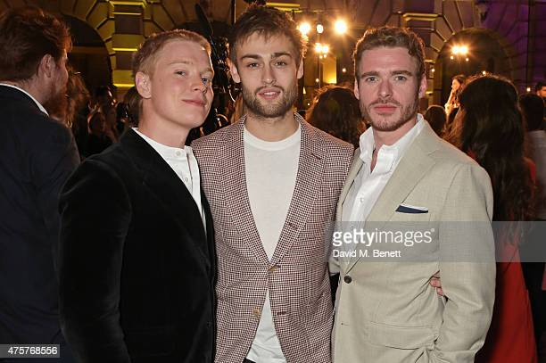 Freddie Fox Douglas Booth and Richard Madden attend the Royal Academy of Arts Summer Exhibition preview party at the Royal Academy of Arts on June 3...