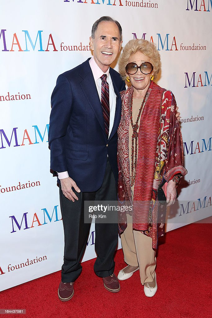 Freddie Gershon and Myrna Gershon attend 'Mama I Want To Sing' 30th Anniversary Gala Celebration at The Dempsey Theatre on March 23, 2013 in New York City.