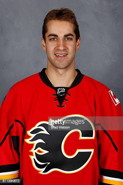 Freddie Hamilton of the Calgary Flames poses for his official headshot for the 20162017 season on September 22 2016 at the WinSport Winter Sport...