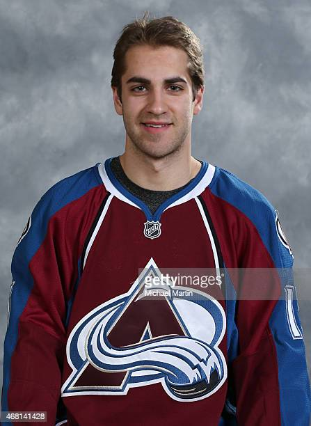 Freddie Hamilton of the Colorado Avalanche poses for his official team headshot prior to the game against the Buffalo Sabres at the Pepsi Center on...