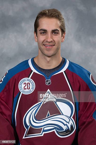 Freddie Hamilton of the Colorado Avalanche poses for his official headshot for the 20152016 NHL season on September 17 2015 at the Pepsi Center in...