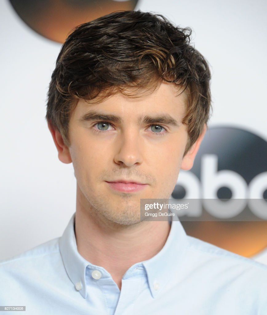 Freddie Highmore arrives at the 2017 Summer TCA Tour - Disney ABC Television Group at The Beverly Hilton Hotel on August 6, 2017 in Beverly Hills, California.